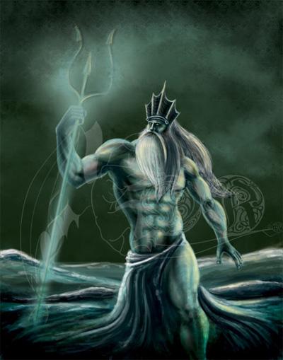 God Poseidon Image, Artwork and Illustration