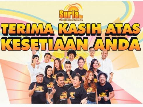 SuriaFM - Bukan radio 'pancing duit'!