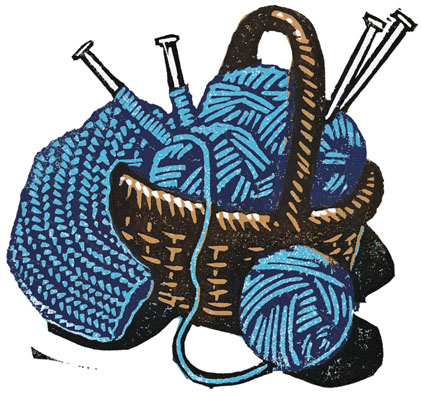 Knitting clipart