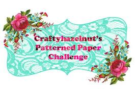 Crafty Hazelnut's Patterned Paper Challenge