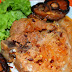 Pork Chop with Orange softdrink