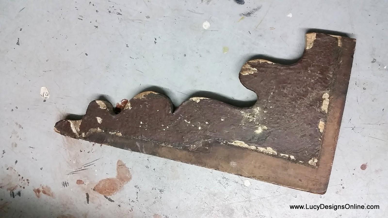 large vintage corbel