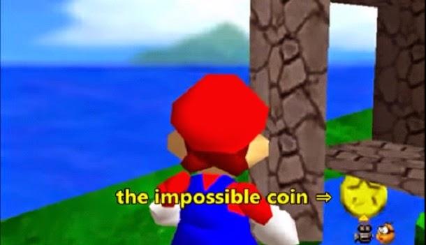 Jogador conquista Moeda Impossível em Mario 64 (com video)