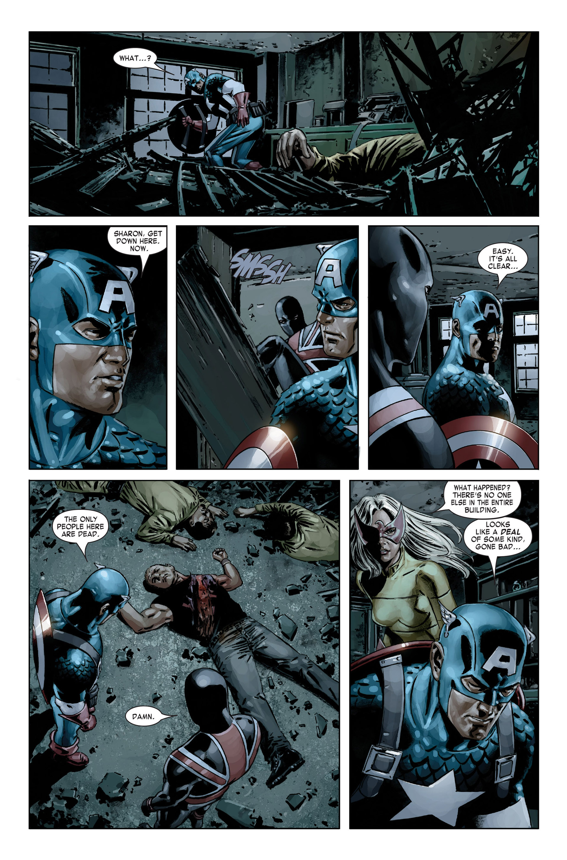 Captain America (2005) Issue #19 #19 - English 21
