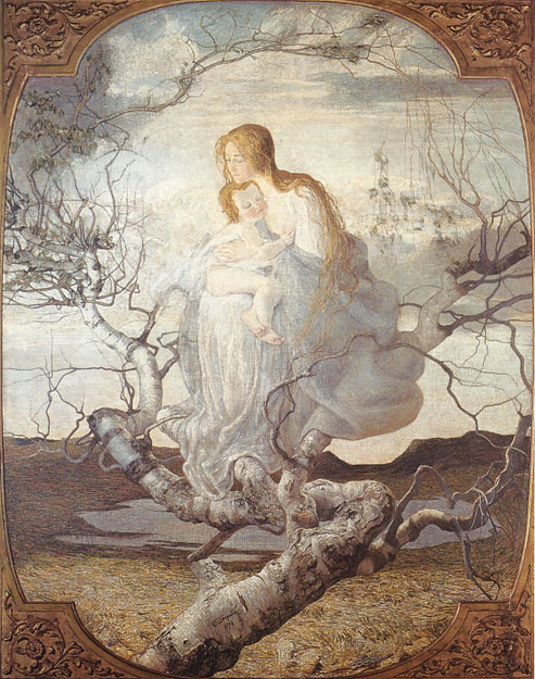 Giovanni Segantini angel