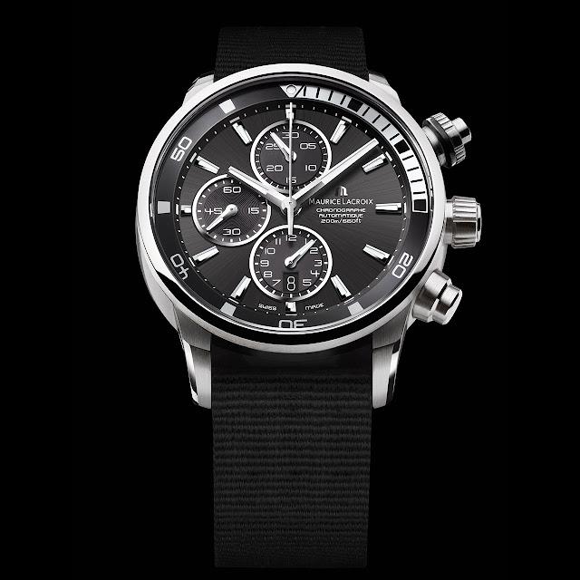 Maurice Lacroix Pontos S Watch black