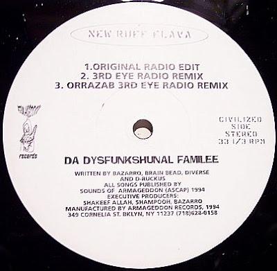 Da Dysfunkshunal Familee – New Ruff Flava (VLS) (1994) (VBR)