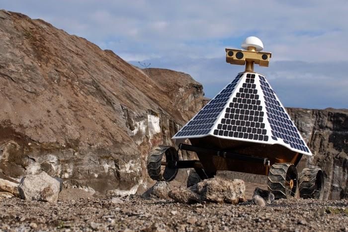 Rover del equipo Astrobotic