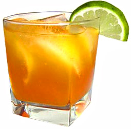 An ice cold glass of Trinidad Rum Punch, speaks of hot sunny days and ...