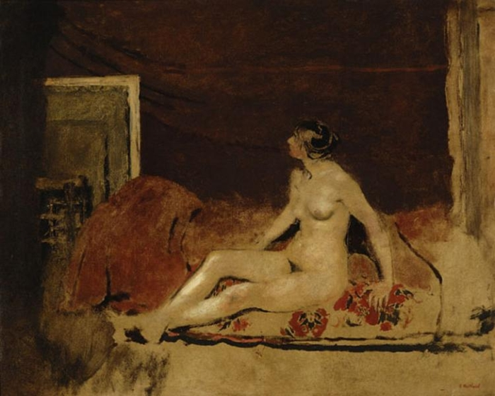 Édouard Vuillard 1868-1940 | French Nabi painter | The Post-Impressionist Nude painting