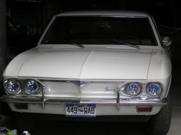 Daily Turismo: 5k: 1966 Chevy Corvair; White Rabbit