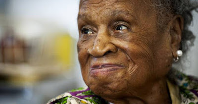 Agnes Fenton, 110-year old woman