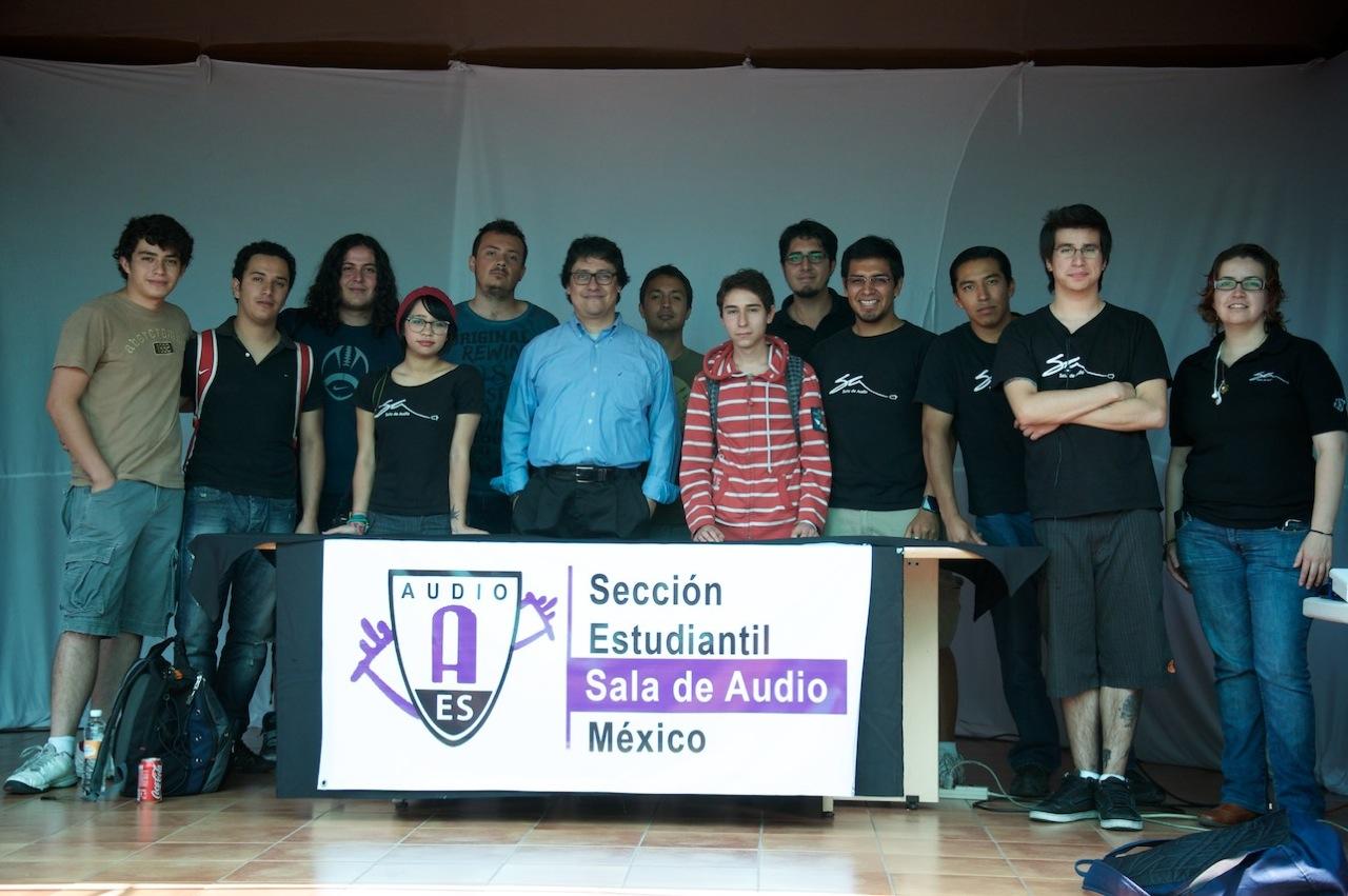 #1F4A5F  . Raúl Oropeza BLOG SECCIÓN ESTUDIANTIL AES SALA DE AUDIO MÉXICO 1280x851 píxeis em Baixar Musica Sala De Estar Daniel