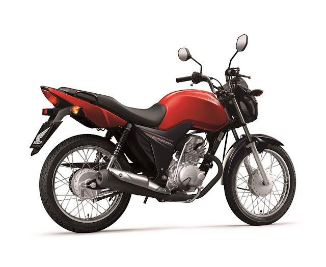 Honda CG 125i Fan 2016 - Vermelha