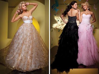 vestidos longos e fluídos para valsa