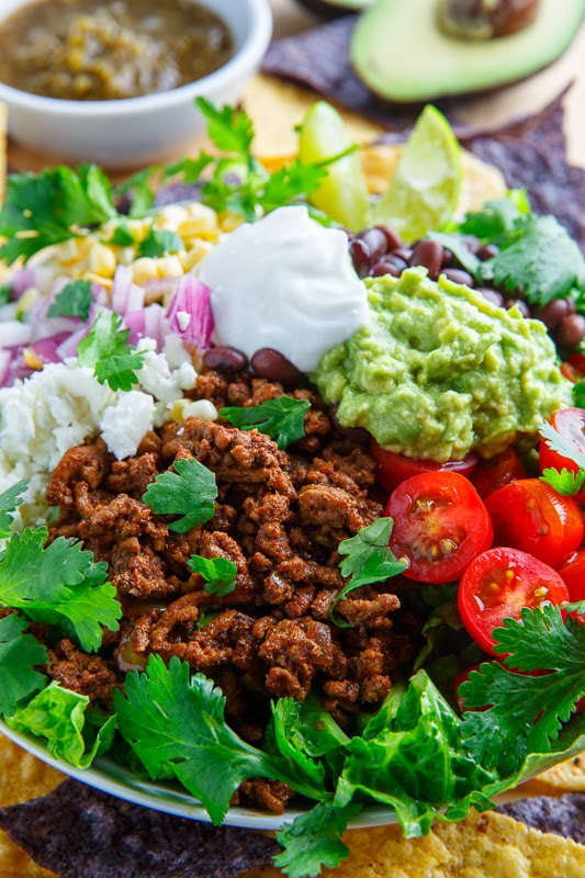 Taco Salad on Closet Cooking