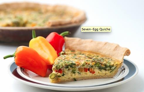 Seven-egg Quiche