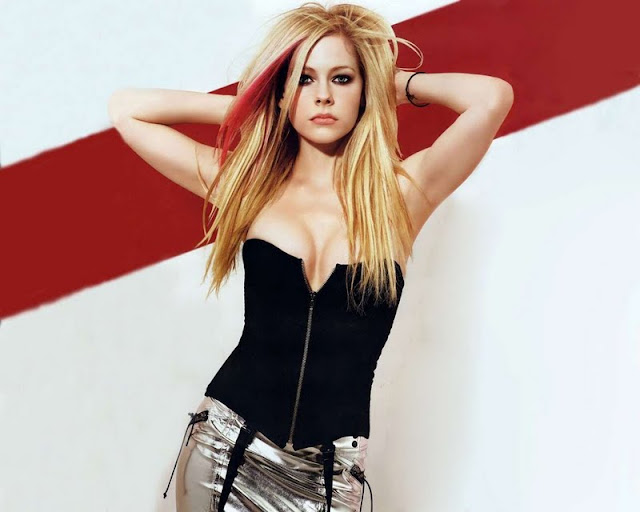 Actress Avril Lavigne