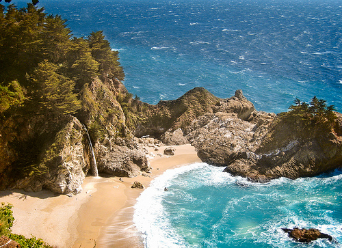 Julia Pfeiffer Beach, Big Sur,Beautiful beaches in the world