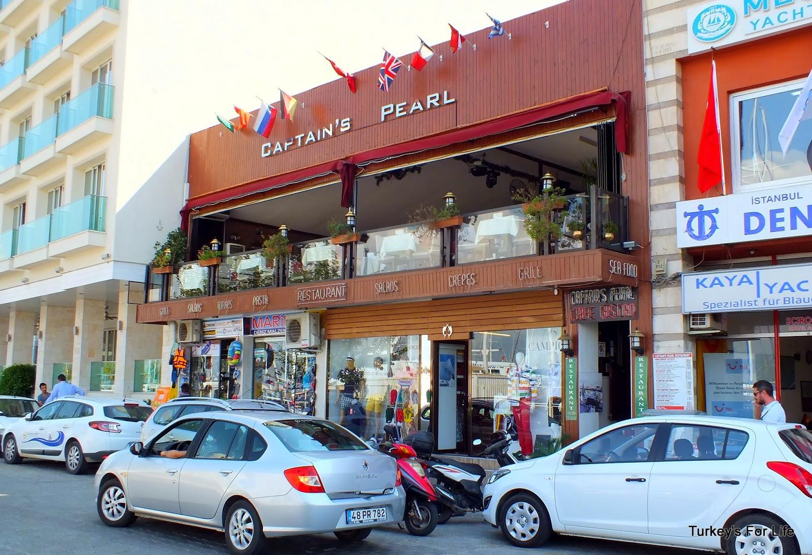 Captain's Pearl Restaurant, Fethiye, Turkey