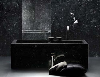 Black Interior Design Bathroom Photo Ideas