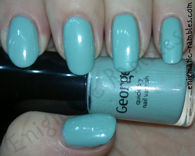 george-asda-smarty-pants-swatch-china-glaze-dupe-for-Audrey-Tiffany-blue