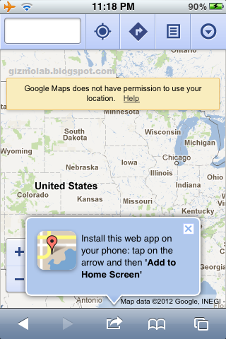 how to download map google maps ipod