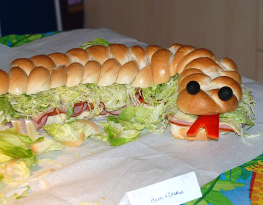 Be DifferentAct Normal Snake Sub Sandwich Party Food