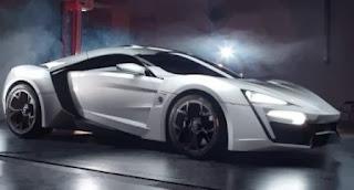Lykan Hypersport sebagai mobil termahal di dunia nomor 2
