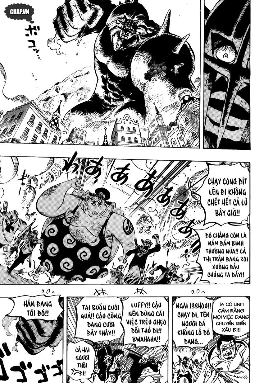 One Piece Chapter 748: Báo ơn 003