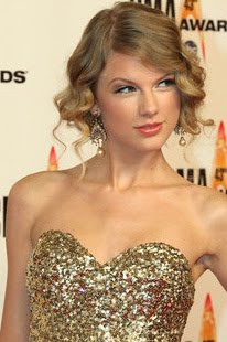 Taylor Swift Gold Chandelier Earrings
