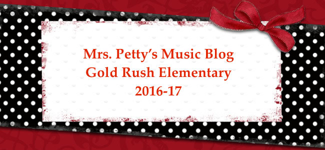 Mrs. Petty's 2016-17 GRE Music Blog