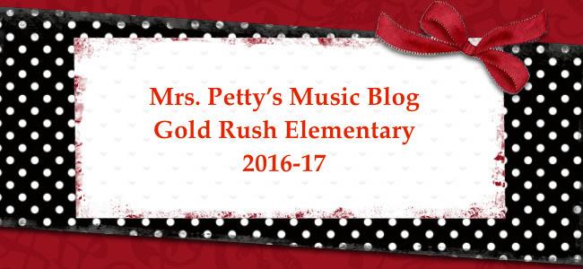 Mrs. Petty's 2016-17 GRE Music Blog