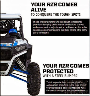 2014 Polaris RZR XP 1000 Dakar Limited Edition