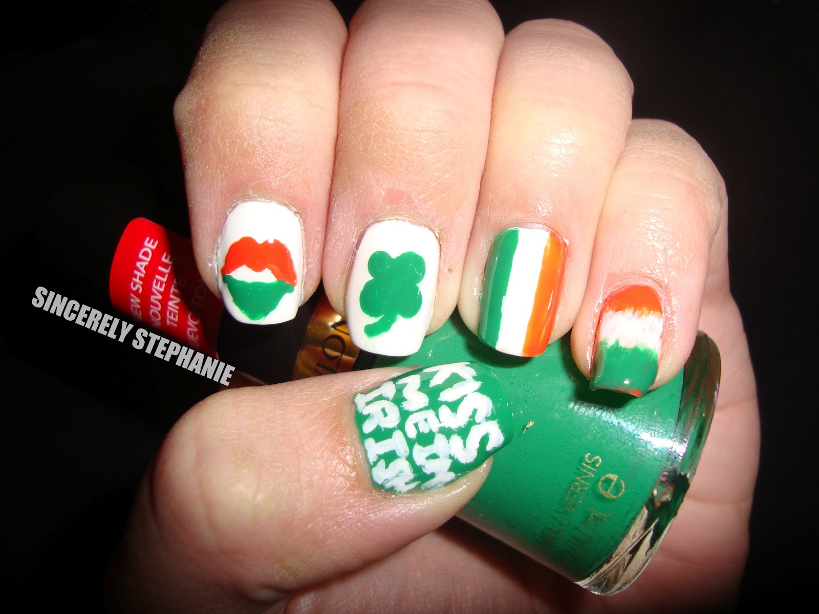 Irish Nail Designs Pictures to Pin on Pinterest - ThePinsta