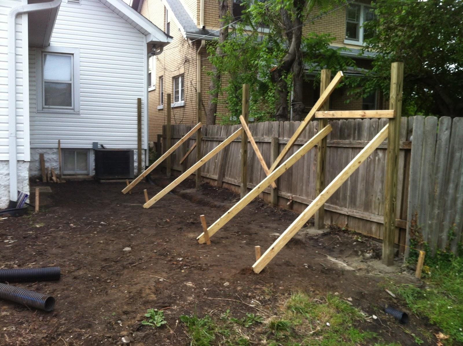724 south house our backyard progress