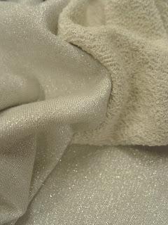 Sweatshirt et coton métallisé