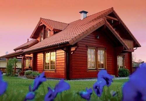 Planos de casas gratis plano casa madera 95 m2 - Casas de madera planos ...