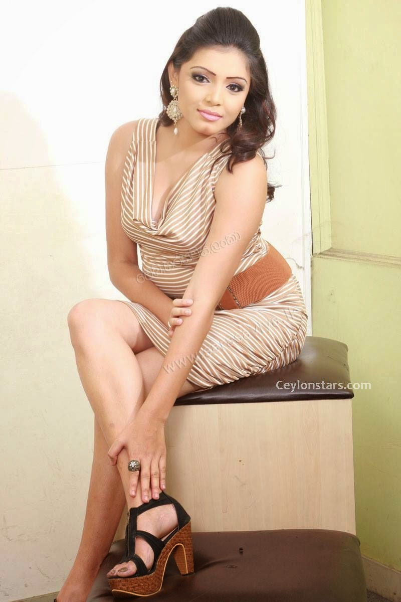 Uthpala Madushani short dress