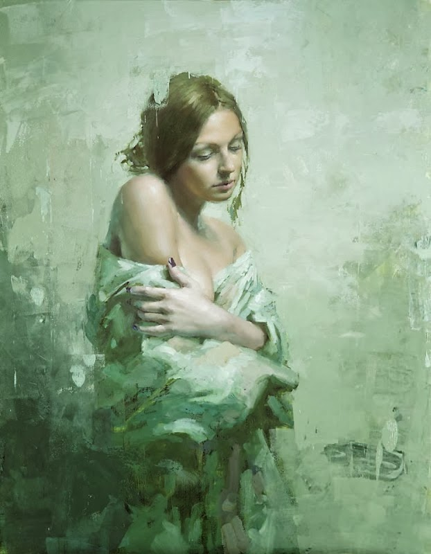 Jeremy Mann, 1979 ~ Impressionist Figurative painter