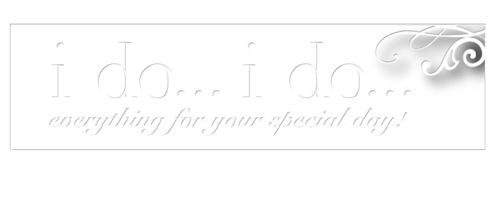 i do... i do...