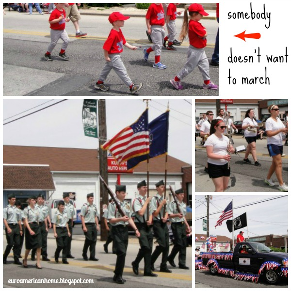 How to celebrate Memorial day in small town America - parades