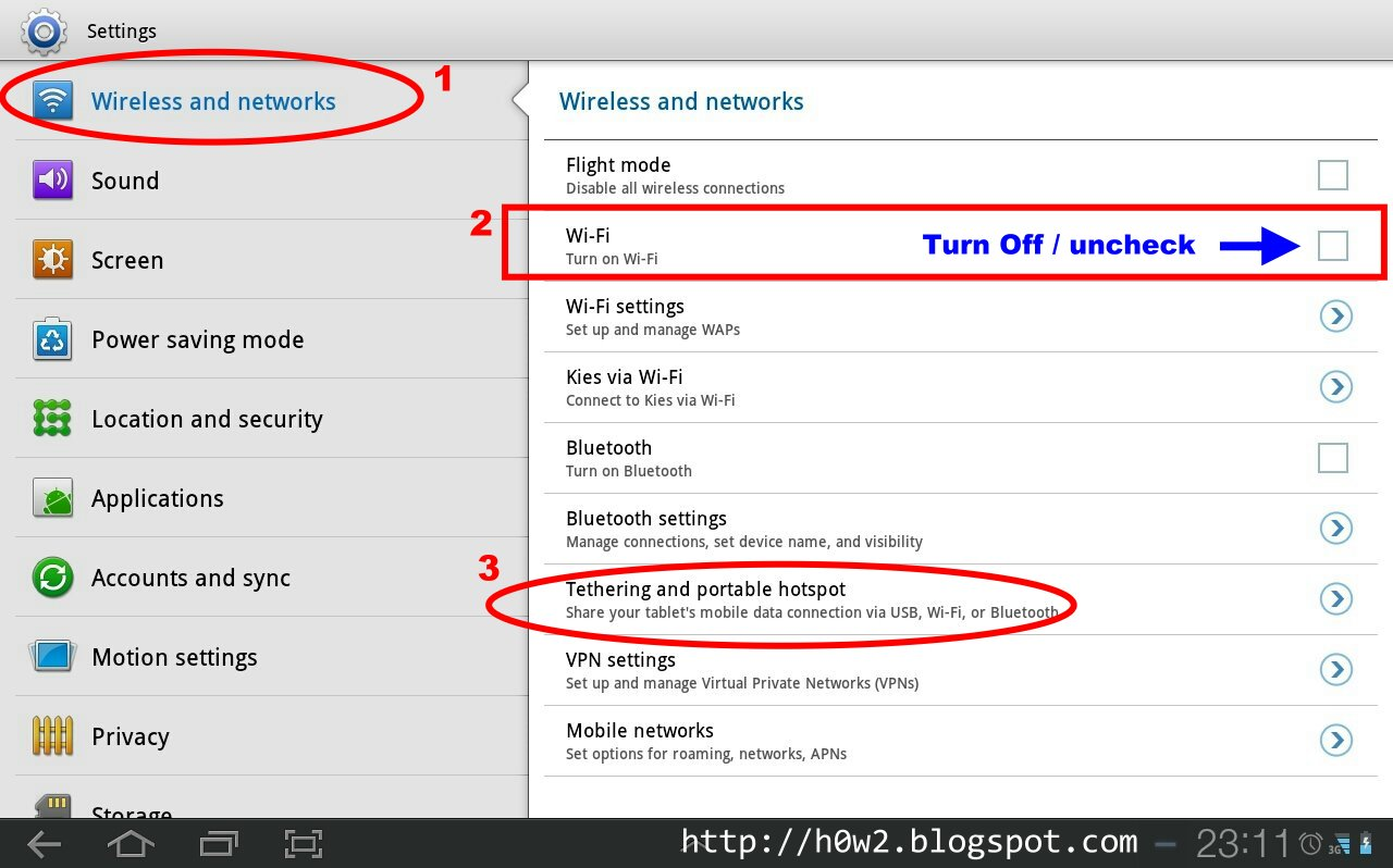 How To Set Samsung Galaxy Tab as a Hotspot - How to ...