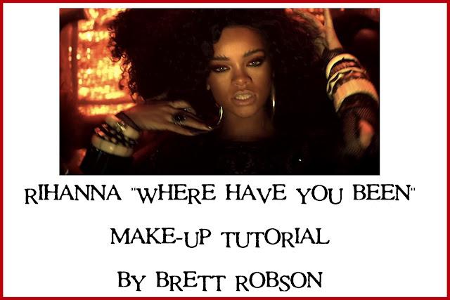 Rihanna Make-Up Tutorial