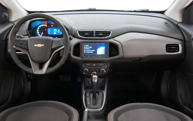 Novo Onix 2014 Automático - interior