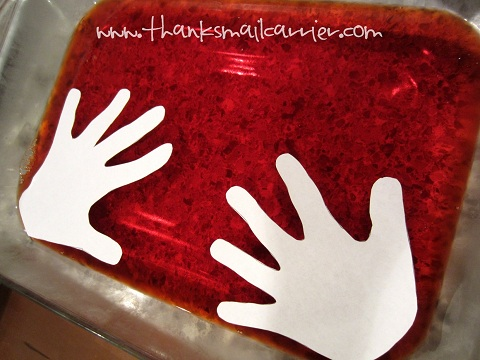 JELL-O hands
