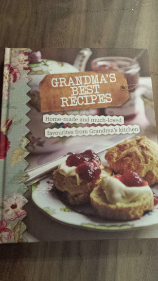Marks and Spencer Grandmas best recipe book