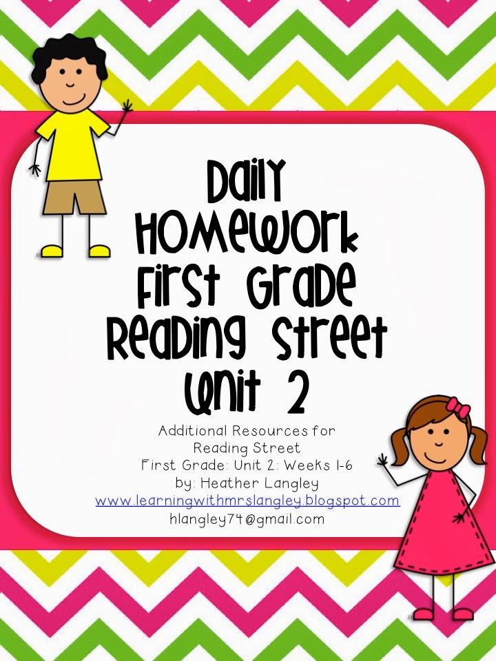 http://www.teacherspayteachers.com/Product/Reading-Street-Homework-Unit-2-First-Grade-947547