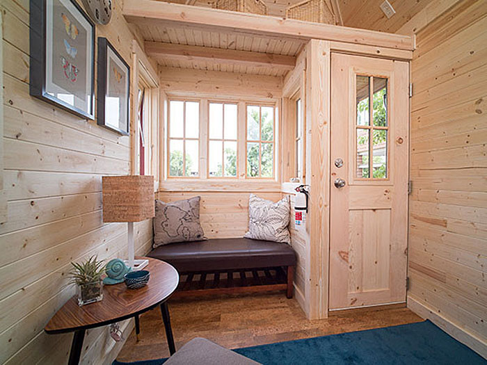 Tiny House Builder 2. Simple Images About Tiny House On Pinterest Small Cabins Cabin With. Best Teen Saves Money At His Summer J