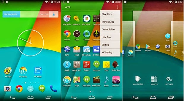 KK Launcher (Lollipop and KitKat) Prime V5.85 Apk